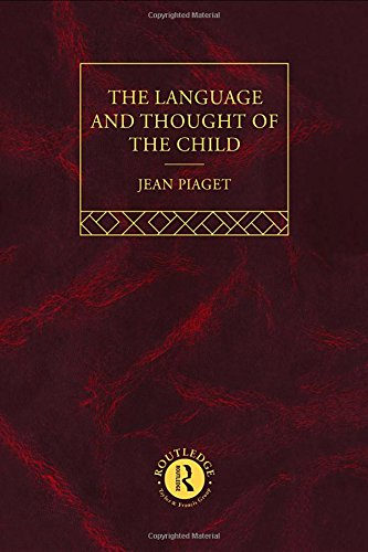 Language and Thought of the Child: Selected Works vol 5 (Volume 6): Jean Piaget