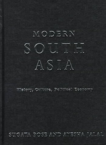 9780415169516: Modern South Asia: History, Culture, Political Economy