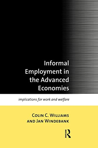 Informal Employment In The Advanced Econo Mies