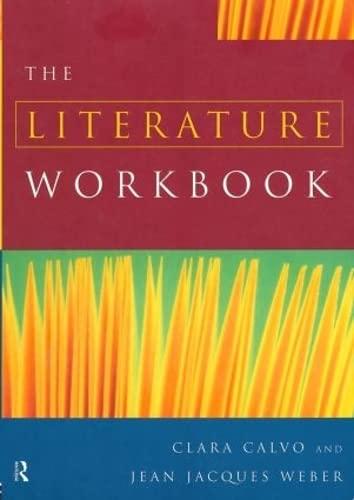9780415169875: The Literature Workbook