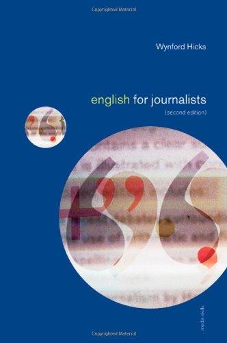 9780415170086: English for Journalists (Media Skills)