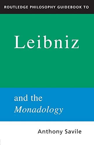 Leibniz (The Routledge Philosophers)
