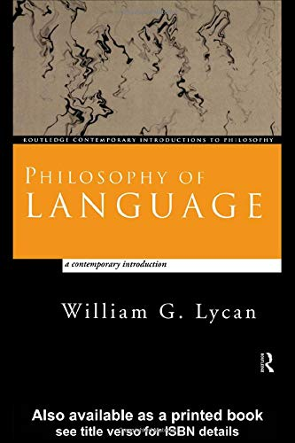philosophy of language Philosophy of language seeks to understand the relationship between language and reality major topics in philosophy of language are the nature of meaning, intentionality, reference, the constitution.