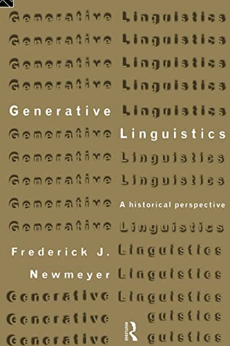 9780415171267: Generative Linguistics: An Historical Perspective (History of Linguistic Thought)