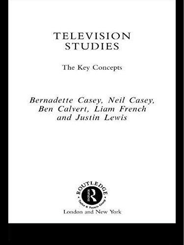 9780415172363: Television Studies: The Key Concepts (Routledge Key Guides)