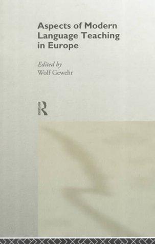 9780415172837: Aspects of Modern Language Teaching in Europe
