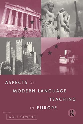 9780415172844: Aspects of Modern Language Teaching in Europe