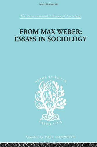 9780415175036: Social Theory and Methodology: From Max Weber: Essays in Sociology