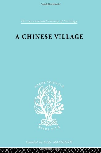9780415175586: The Sociology of East Asia: Chinese Village Ils 52 (International Library of Sociology) (Volume 2)