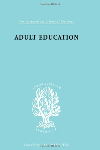 9780415177498: Adult Education: A Comparative Study (International Library of Sociology) (Volume 1)