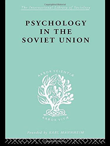 9780415178143: Psychology in the Soviet Union Ils 272 (International Library of Sociology) (Volume 6)