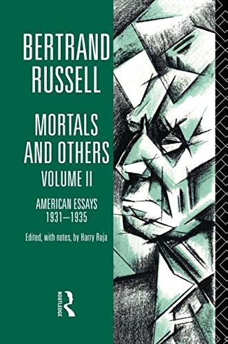 9780415178679: 2: Mortals and Others, Volume II: American Essays 1931-1935 (Bertrand Russell Paperbacks)
