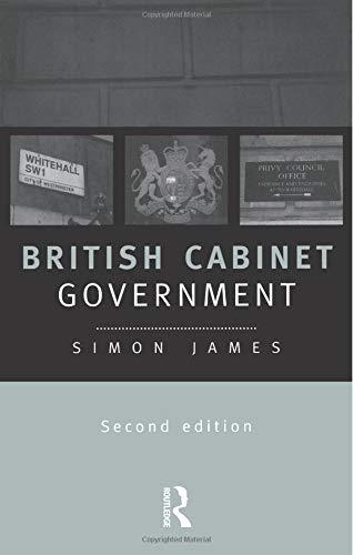 9780415179775: British Cabinet Government