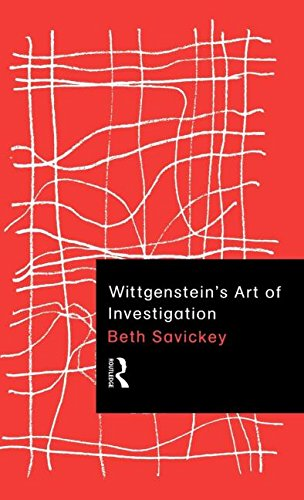 9780415180382: Wittgenstein's Art of Investigation