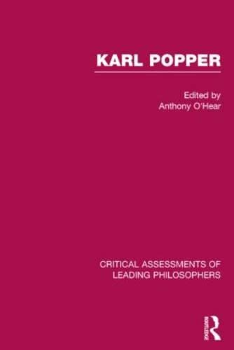 9780415180429: Karl Popper: Critical Assessments of Leading Philosophers
