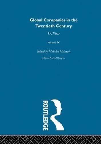 9780415181198: Rio Tinto:Global Comp 20th V9: Volume 8