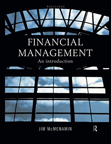 9780415181624: Financial Management: An Introduction
