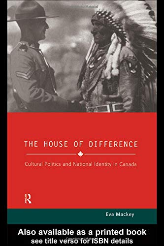 9780415181662: House of Difference: Cultural Politics and National Identity in Canada (Sussex Studies in Culture and Communication)