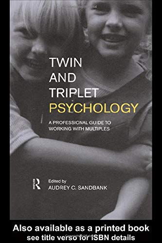 9780415183970: Twin and Triplet Psychology: A Professional Guide to Working with Multiples
