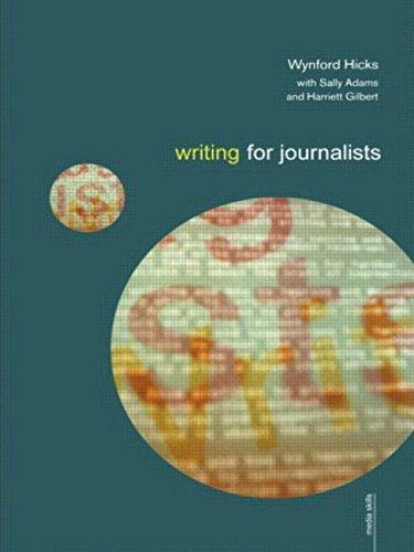 9780415184458: Writing for Journalists (Media Skills)