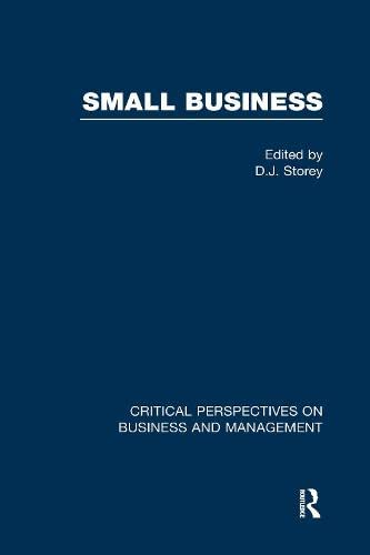 9780415184717: Small Busin:Crit Persp V3
