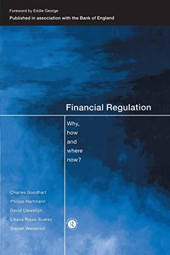 9780415185059: Financial Regulation: Why, How and Where Now?