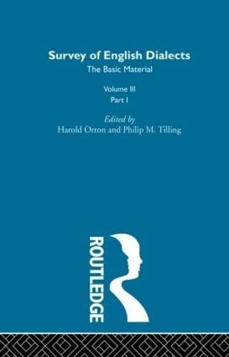 Survey Eng Dialects Vol3 Prt1: BARRY, MICHAEL V.