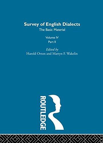 Survey Eng Dialects Vol4 Prt2: BARRY, MICHAEL V.