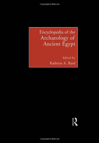 9780415185899: Encyclopedia of the Archaeology of Ancient Egypt