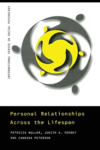 9780415186483: Personal Relationships Across the Lifespan (International Series in Social Psychology)