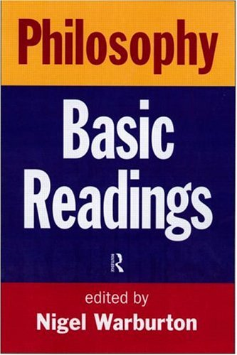 9780415187206: Philosophy: Basic Readings: The Basic Readings