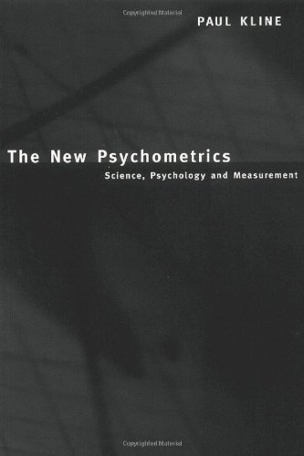 9780415187510: The New Psychometrics: Science, Psychology and Measurement