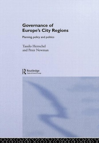 9780415187701: Governance of Europe's City Regions: Planning, Policy & Politics