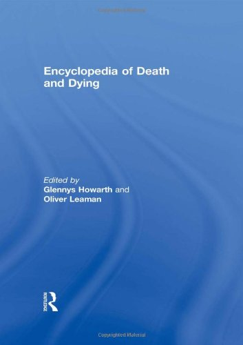 9780415188258: Encyclopedia of Death and Dying
