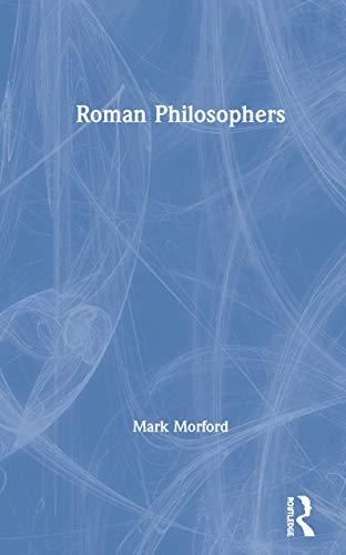 9780415188517: Roman Philosophers