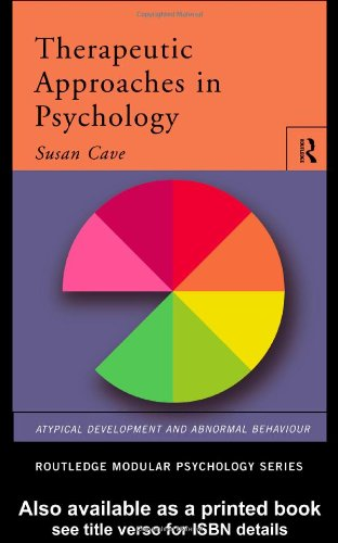 9780415188715: Therapeutic Approaches in Psychology (Routledge Modular Psychology) (Volume 27)