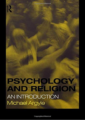 9780415189064: Psychology and Religion: An Introduction
