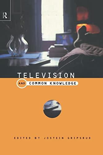 9780415189293: Television and Common Knowledge (Comedia)