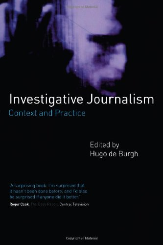 9780415190534: Investigative Journalism: Context and Practice