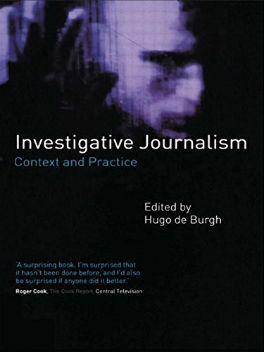 9780415190541: Investigative Journalism: Context and Practice