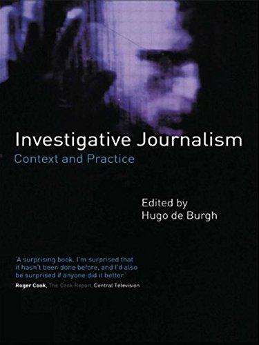 9780415190541: Investigative Journalism