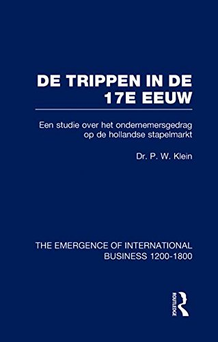 9780415190794: De Trippen In De 17e Eeuw V7 (The Rise of International Business) (Volume 2)