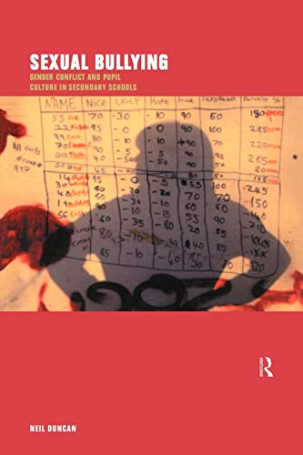 9780415191135: Sexual Bullying: Gender Conflict and Pupil Culture in Secondary Schools