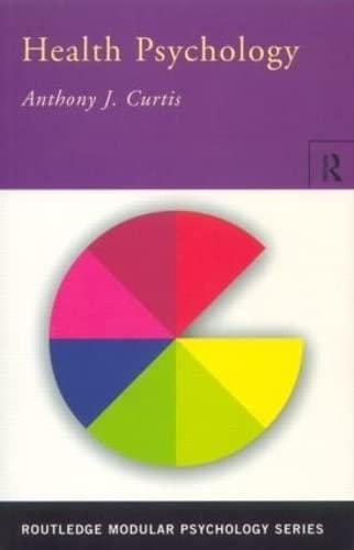 9780415192736: Health Psychology (Routledge Modular Psychology)