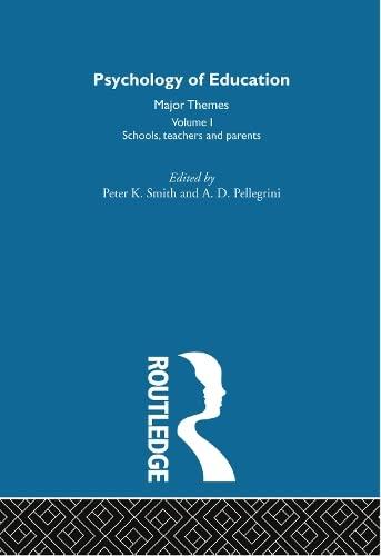 9780415193030: Psychology of Education: Major Themes