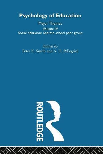 9780415193061: Psychology of Education V4
