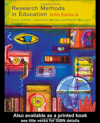 9780415195416: Research Methods in Education