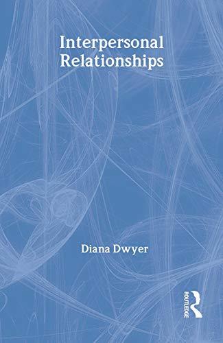 9780415196239: Interpersonal Relationships (Routledge Modular Psychology)