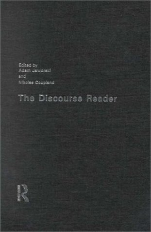 9780415197335: The Discourse Reader: second edition