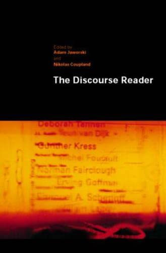 9780415197342: The Discourse Reader